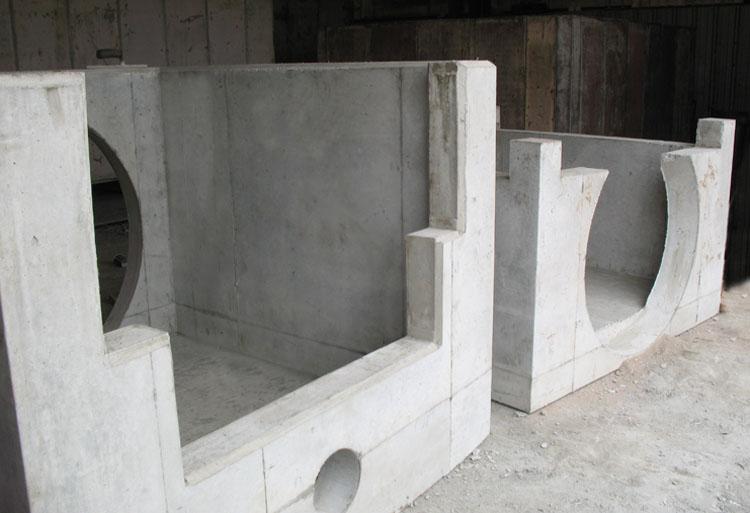 Custom precast concrete forms