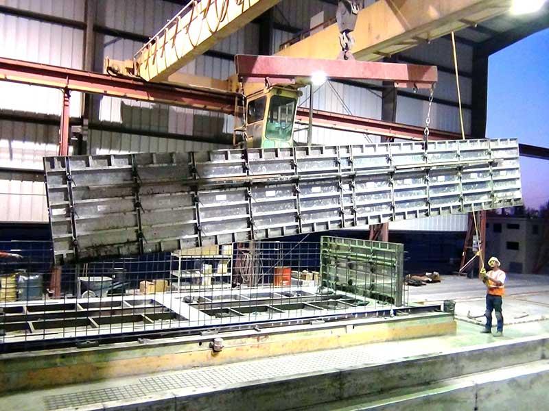 precast concrete forms
