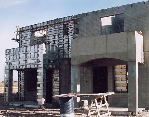 Precast form pallet and header